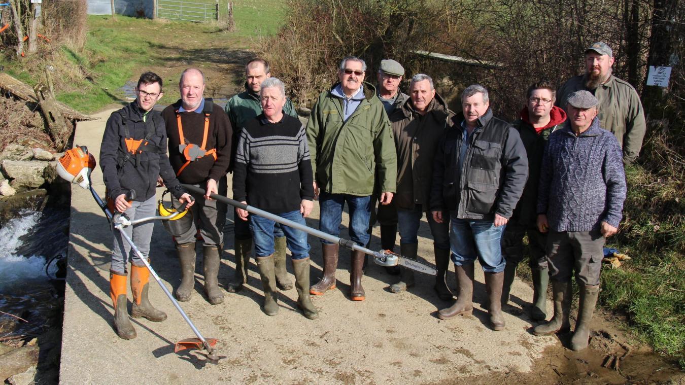 Les bénévoles vont se retrousser les manches pour entretenir les berges de la Liane.