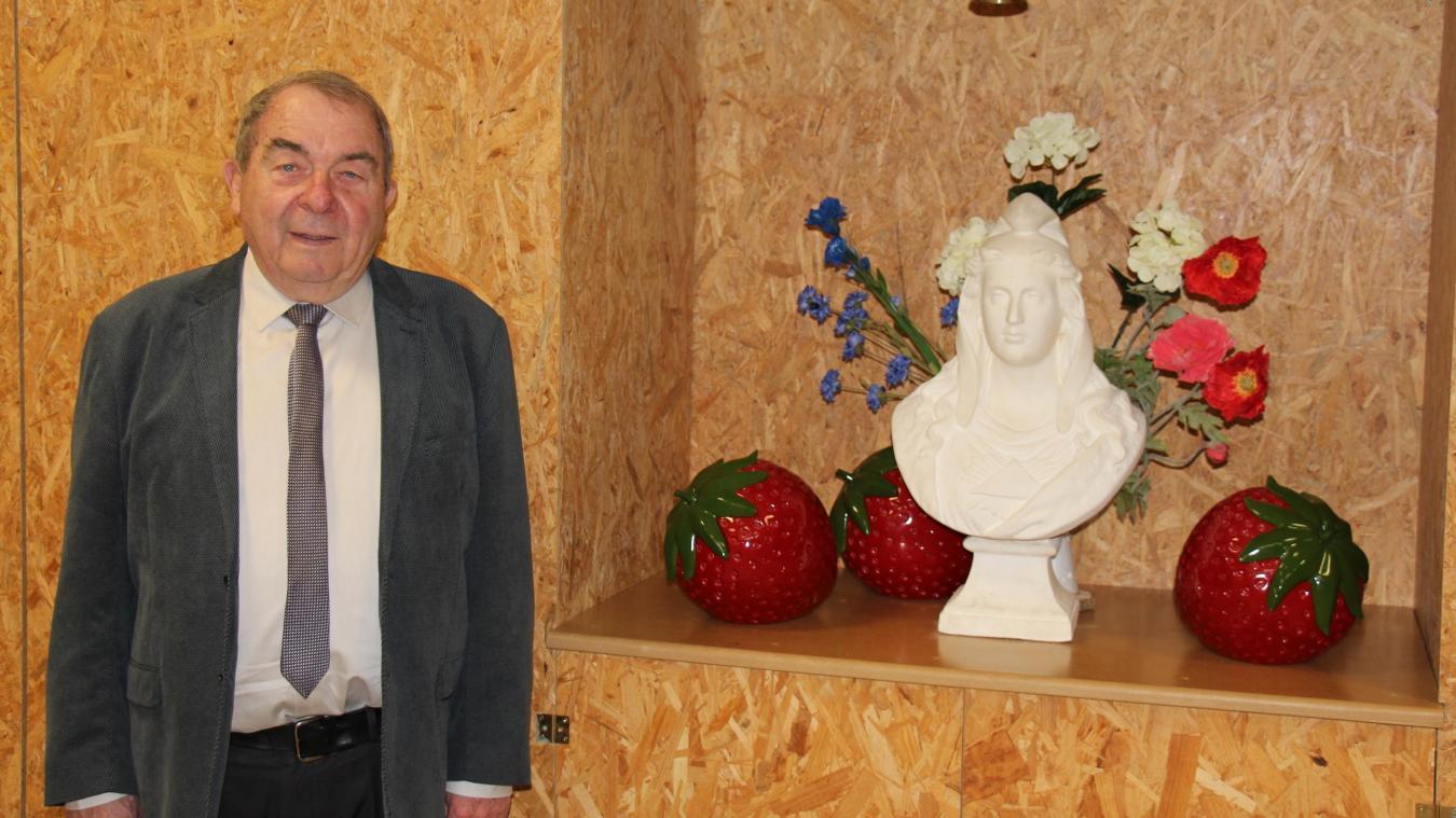 Claude Bailly est maire de Samer depuis 2006.