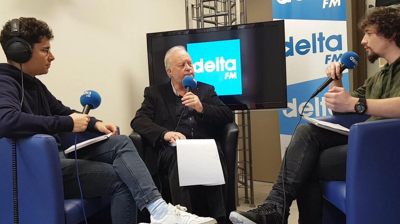 Dany Wallyn a répondu aux questions des journalistes de Delta FM et du Phare dunkerquois.