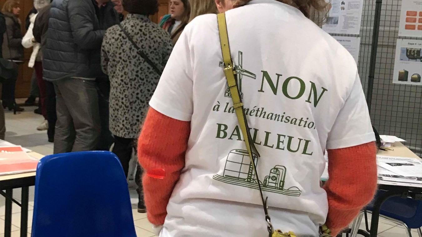 Samedi 15 février, l'association Non à la méthanisation à Bailleul organisait ainsi une journée de débats.