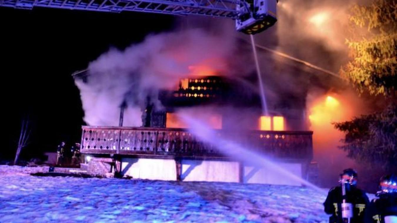 À la Clusaz, trois familles berckoises perdent leur chalet dans les flammes