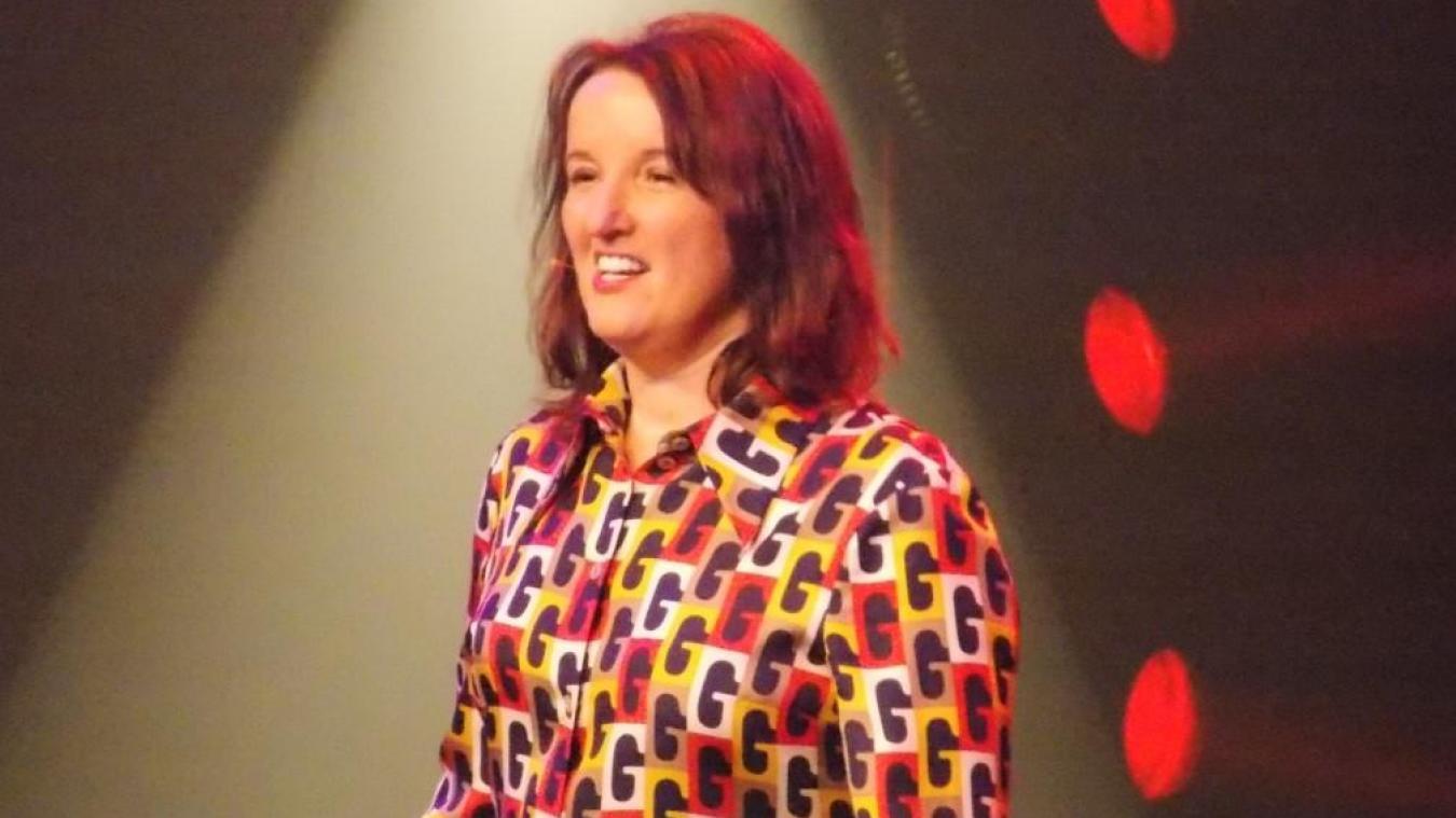 Anne Roumanoff était à Aire ce week-end.