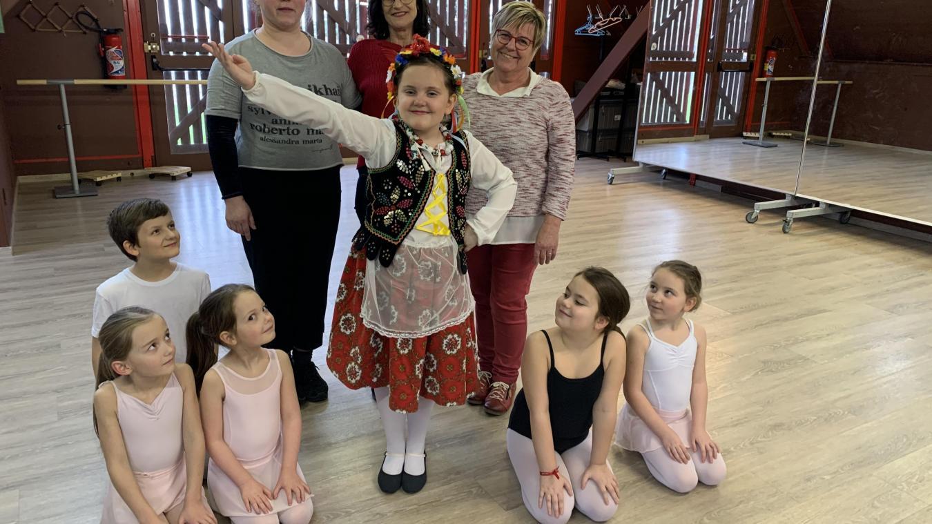 Mahaut et « son » Krakowiak pour réveiller la fibre folklorique de la danse polonaise.
