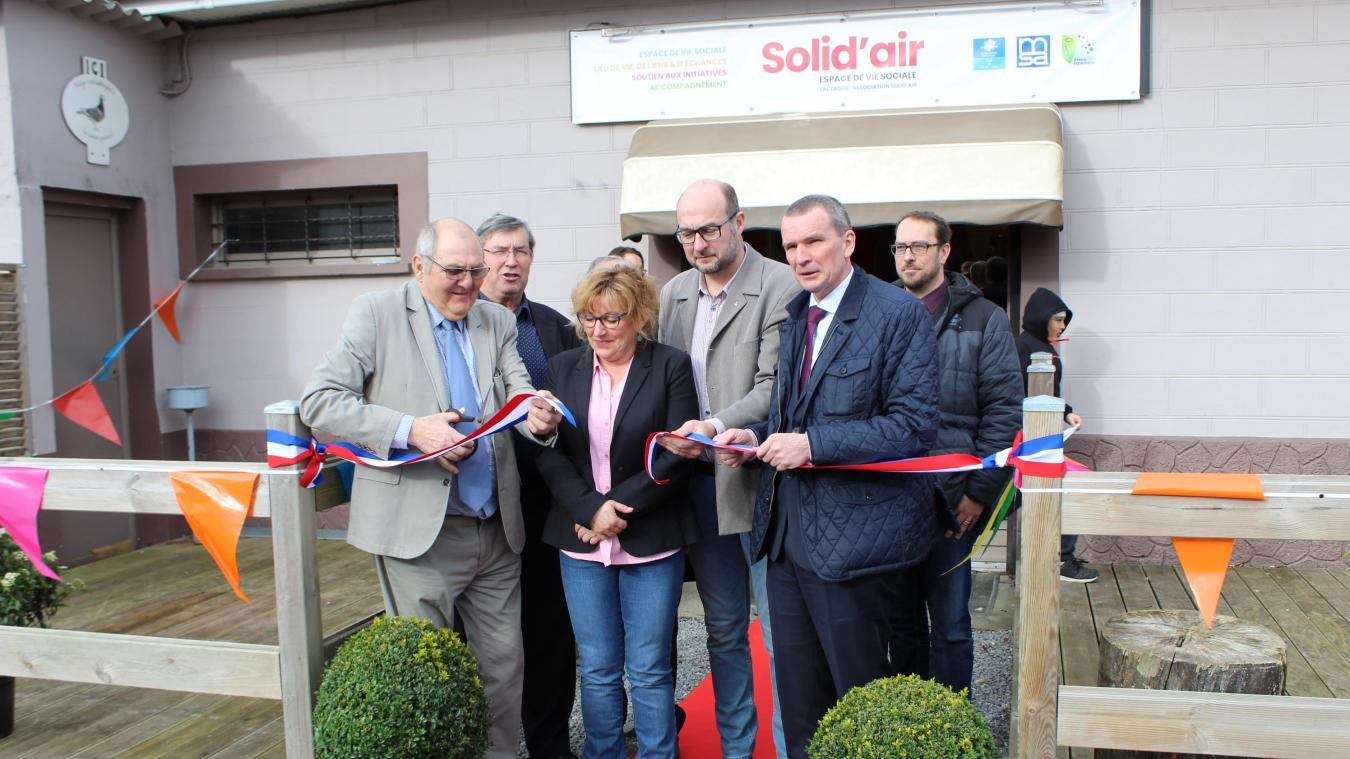 Les nouveaux locaux de Solid'air ont été inaugurés.