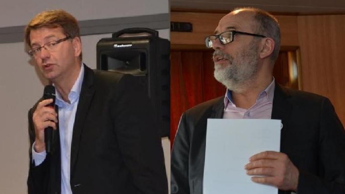 Patrice Vergriete et Claude Nicolet ont présenté leur liste le même jour.