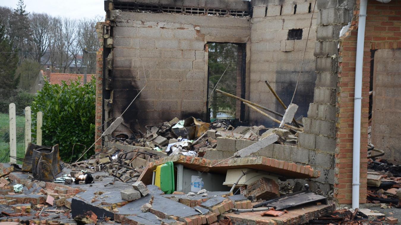 Un problème électrique serait à l'origine du feu qui a ravagé la maison d'un couple de Mametziens le 9 février dernier.