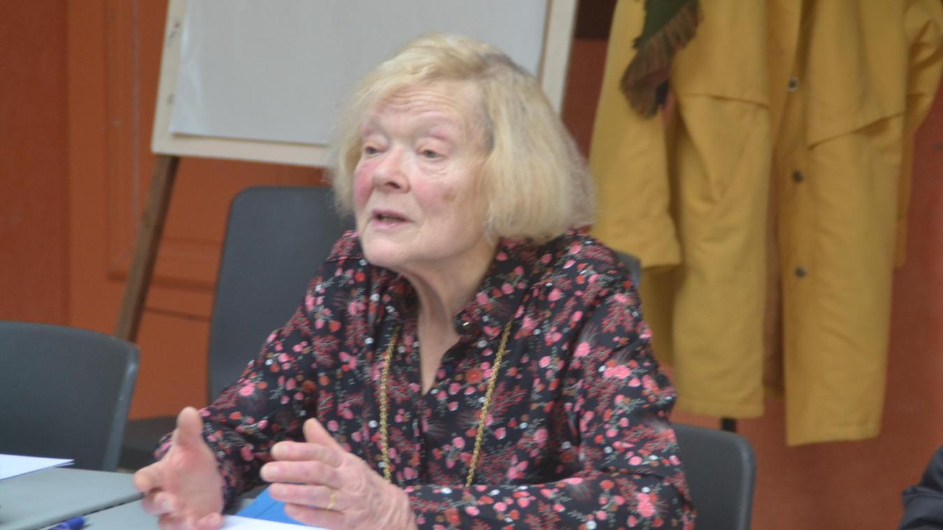 Jane Price-Renisson, présidente du club des aînés, participait à toutes les manifestations hucqueloises.