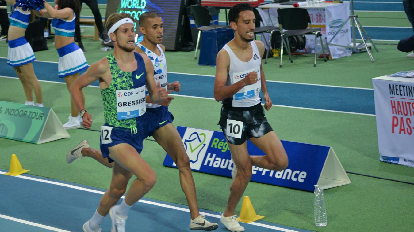 Jimmy Gressier a terminé 10e du 3000 mètres.