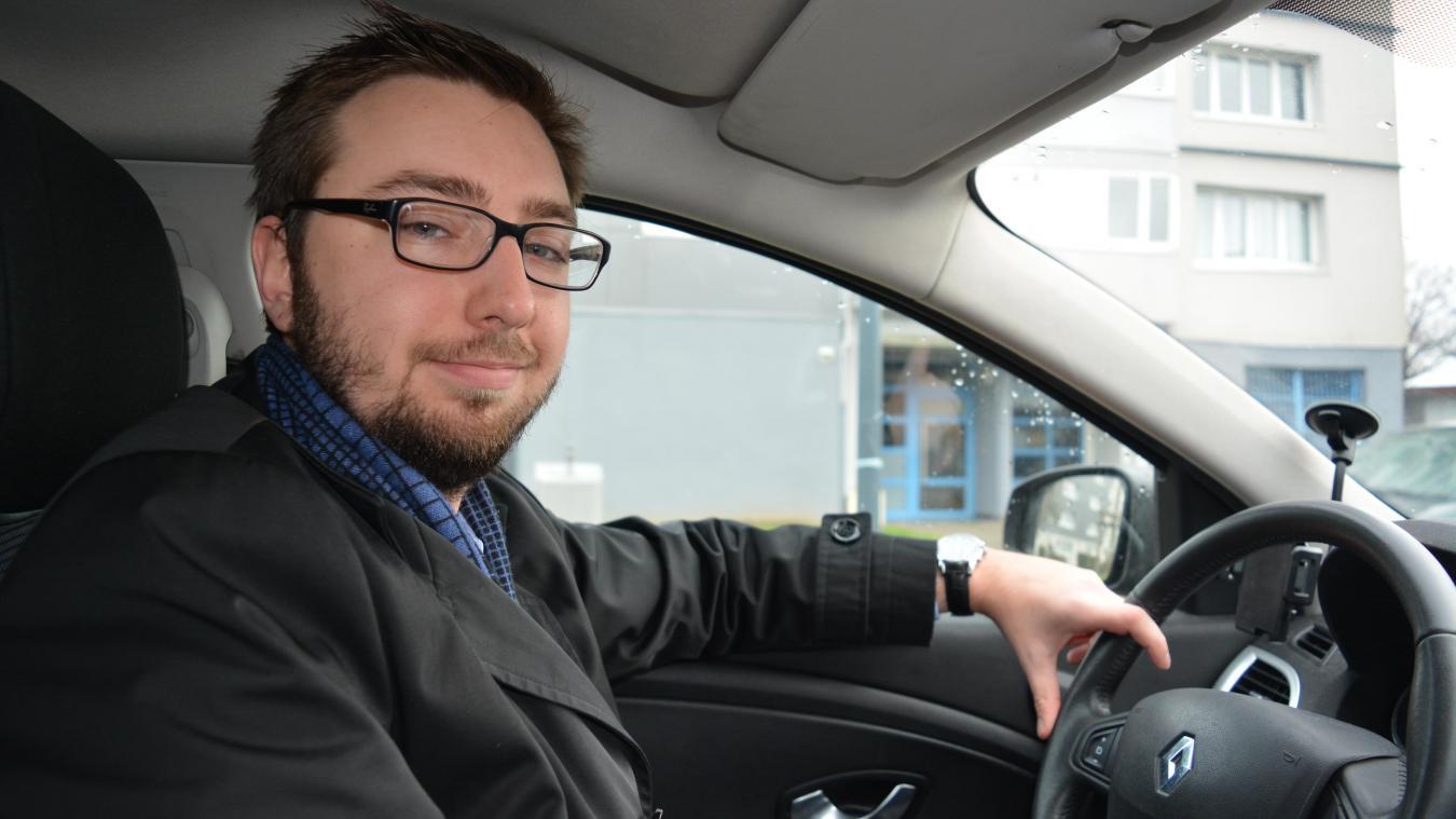 Alexandre Maeseele a pour ambition d'être élu au sein de l'agglomération, là où les décisions se prennent.