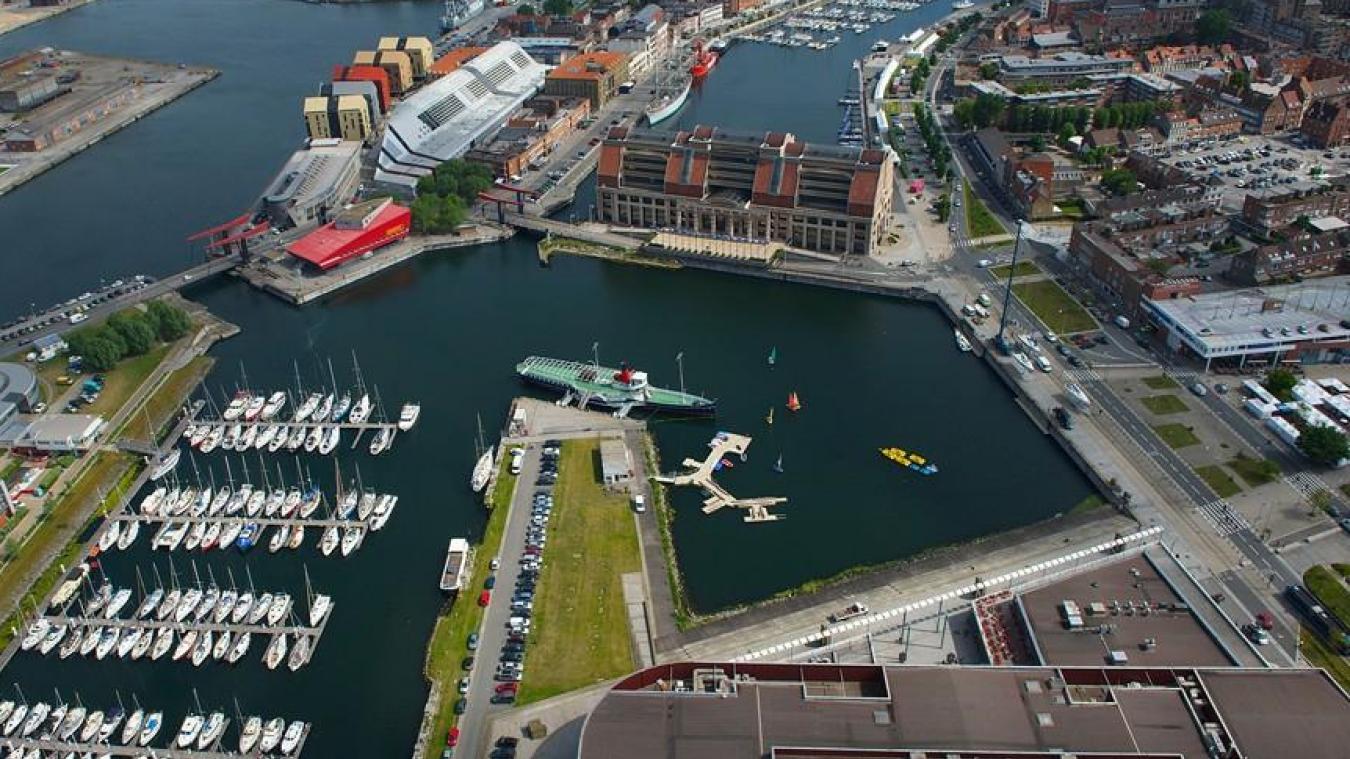 Les bateaux de la Solitaire du Figaro seront amarrés quai de l'Amiral-Ronarc'h.©DR
