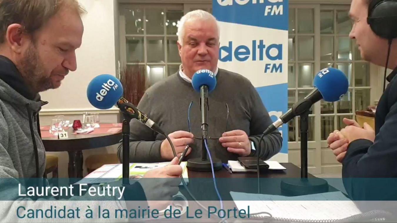 Déchu du fauteuil majoral pour 19 voix en 2014, Laurent Feutry entend reconquérir la mairie du Portel en mars prochain.