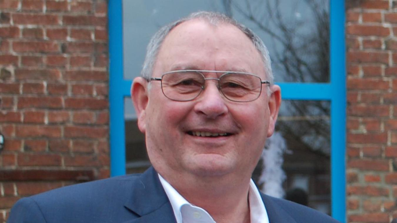 Michel Gillloen a été maire de Bailleul de 2006 à 2014.