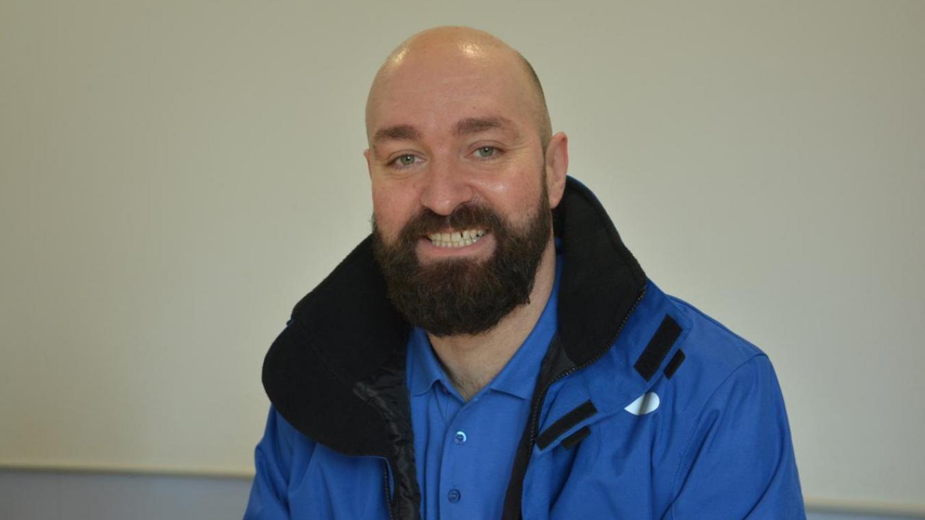 Frédéric Verhaeghe est le nouveau médiateur urbain du quartier du haut d'Houdain.