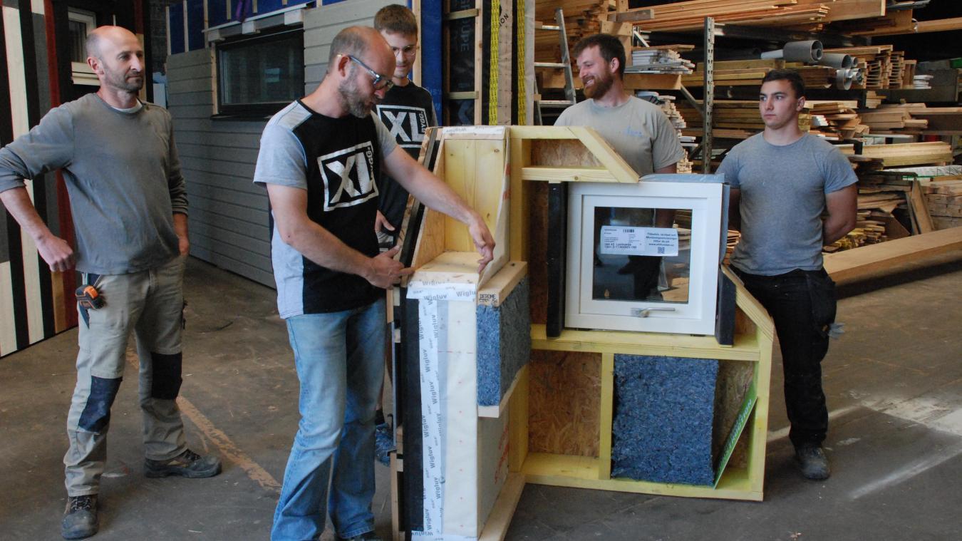 Hemma construction propose des constructions ossature bois hautes performances.