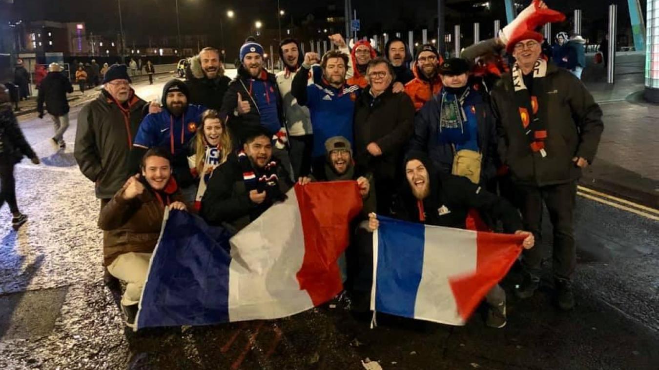 Au Millenium de Cardiff, ces Boulonnais ont passé une superbe journée avec la victoire des Bleus.