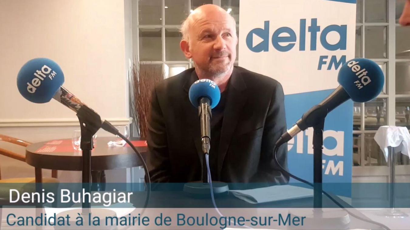 Denis Buhagiar, tête de liste de Boulogne citoyenne et écologiste.