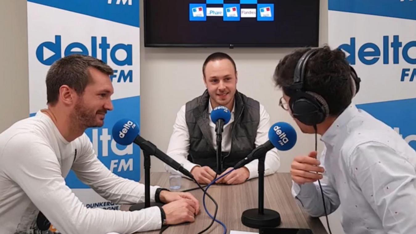 Adrien Nave a répondu aux questions des journalistes du Phare dunkerquois et de Delta FM.