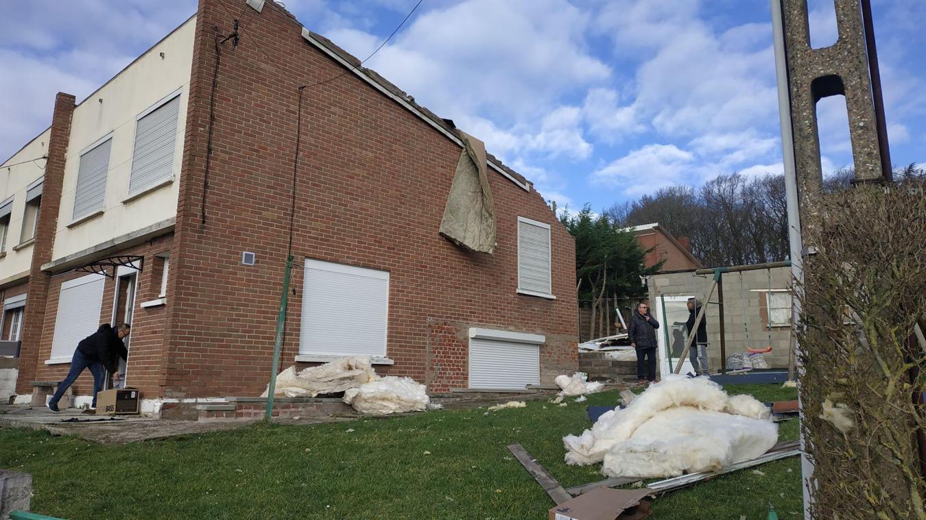 Les vents qui ont soufflé dimanche 16 février ont provoqué de nombreux dégâts.