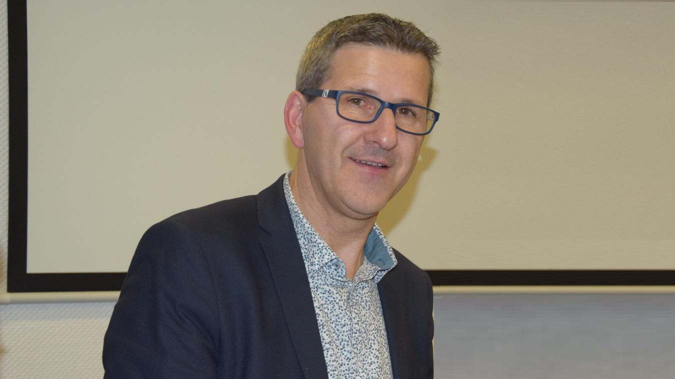 Jean-Luc Bouvier en meeting ce jeudi 27 février à Berck