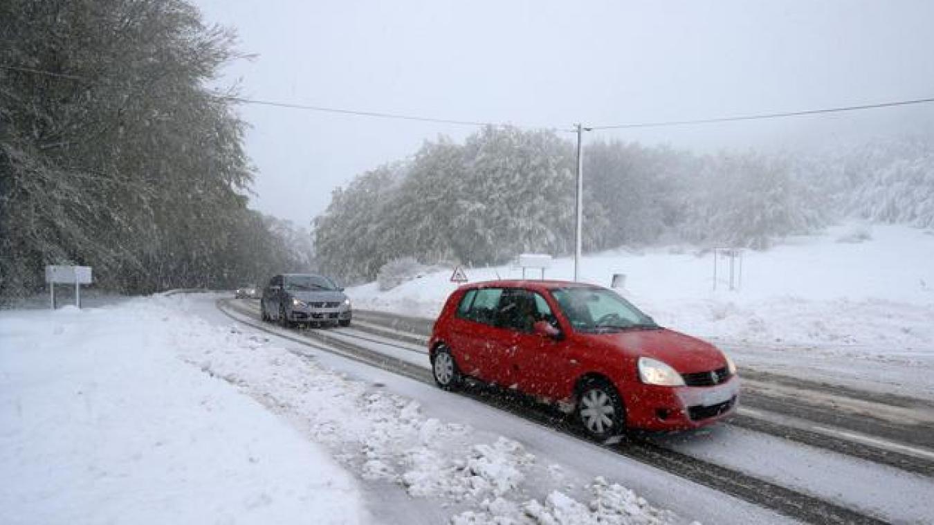 L'épisode neigeux sera bref mais un à six centimètres de neige sont attendus par les ingénieurs de Météo France.