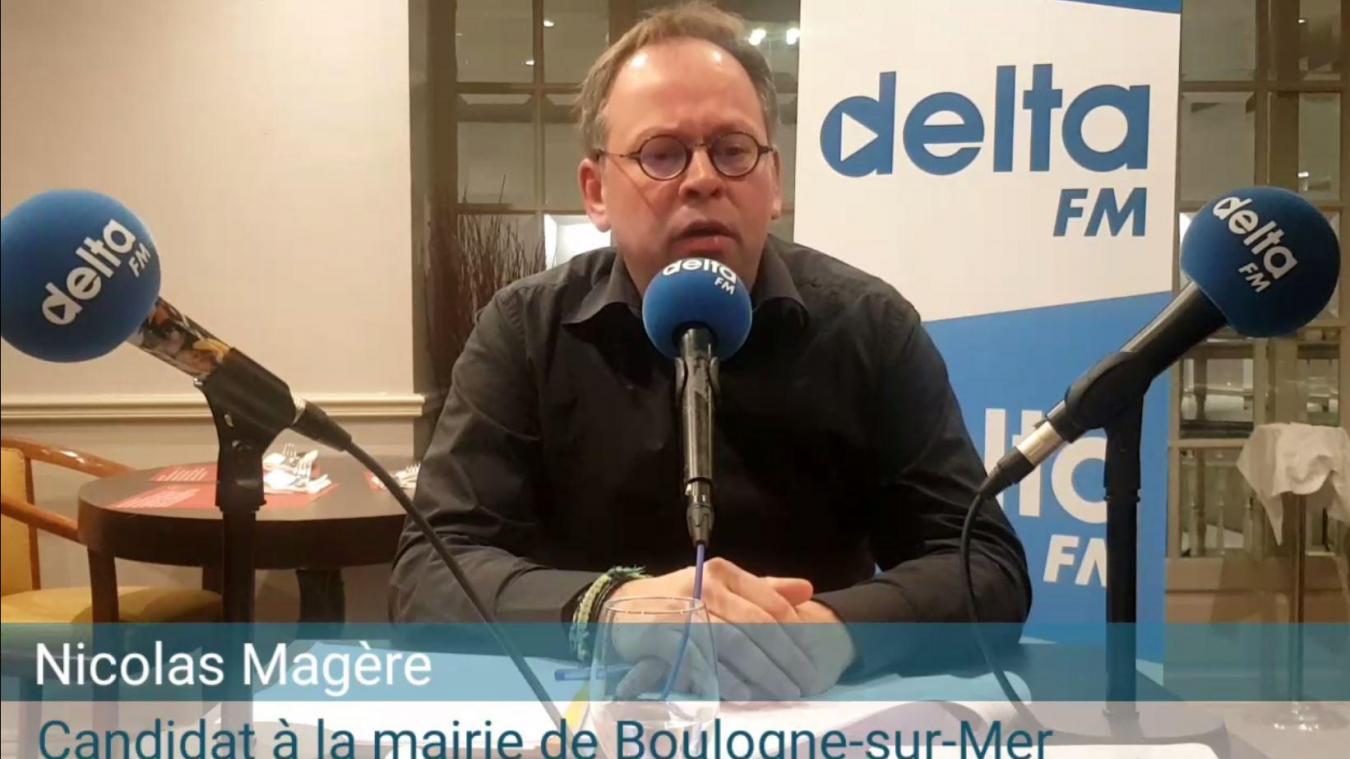 Nicolas Magère était déjà candidat à Boulogne-sur-Mer en 2014.