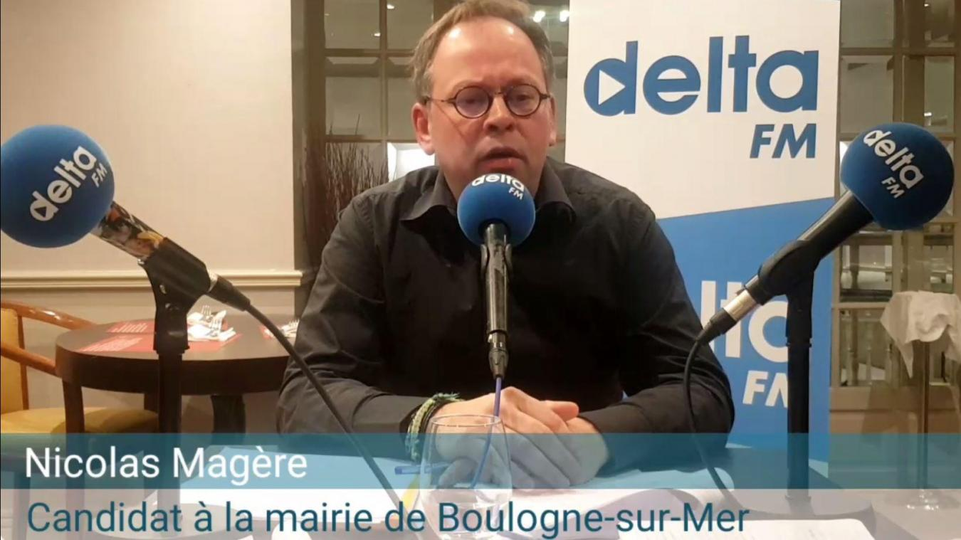 Nicolas Magère était déjà candidat en 2014.
