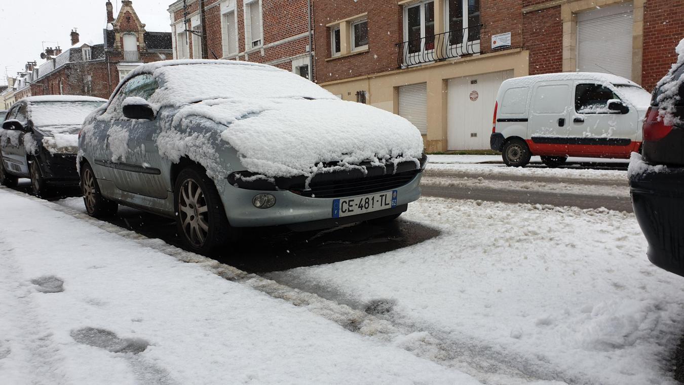 La neige tombe en abondance sur l'Arrageois (vos photos)