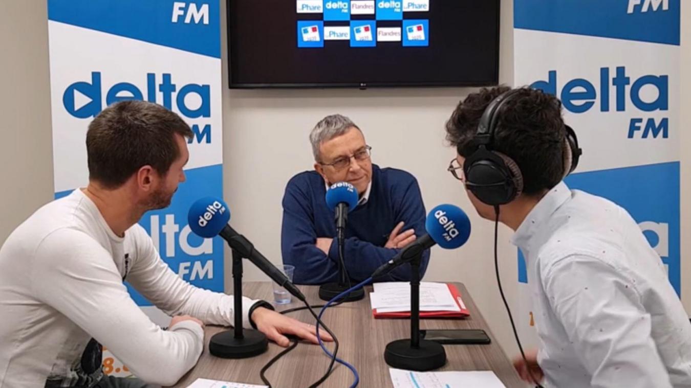 Jean-Pierre Clicq a répondu aux journalistes de Delta FM et du Phare dunkerquois.
