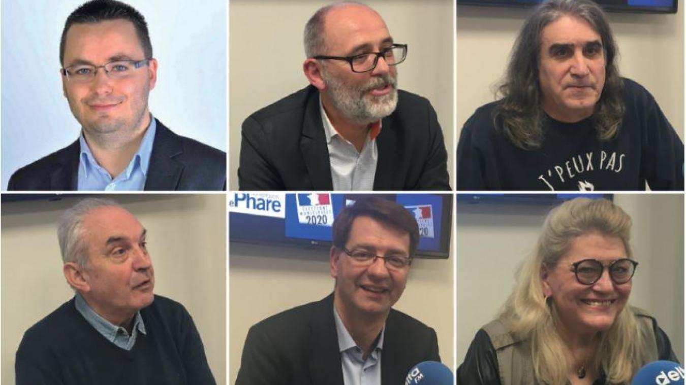 Tous les candidats aux élections municipales de Dunkerque se sont prêtés au jeu des questions réponses avec Delta Fm et Le Phare dunkerquois.
