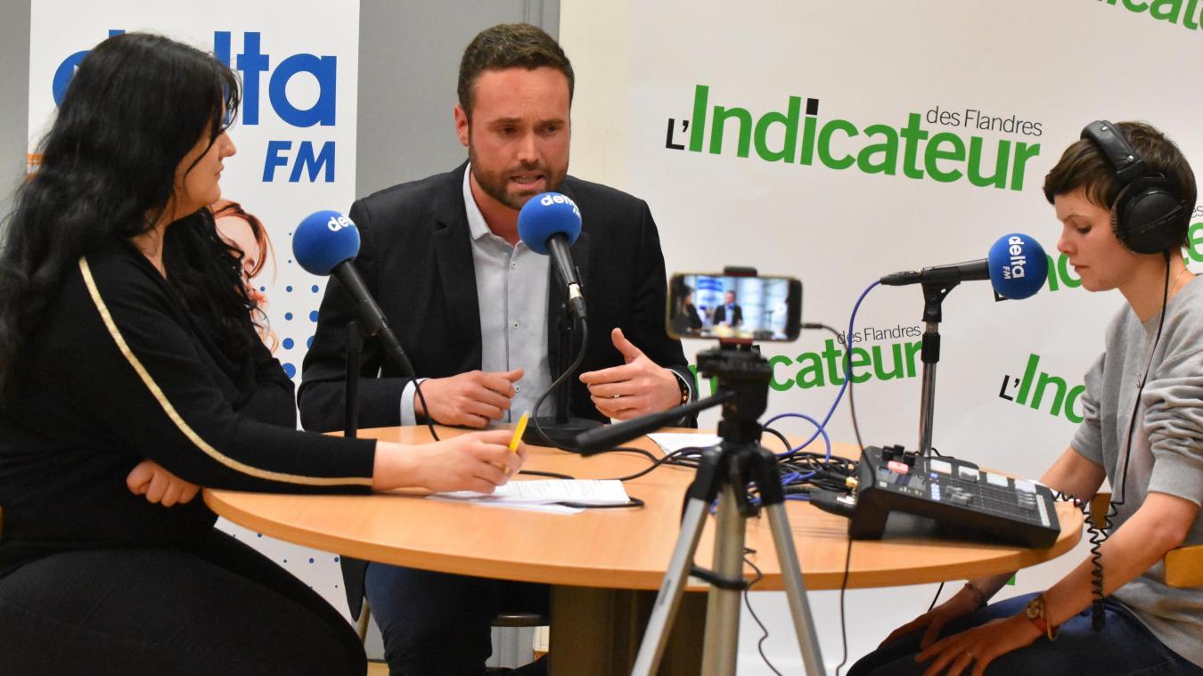 15 minutes avec Valentin Belleval, candidat à la mairie d'Hazebrouck