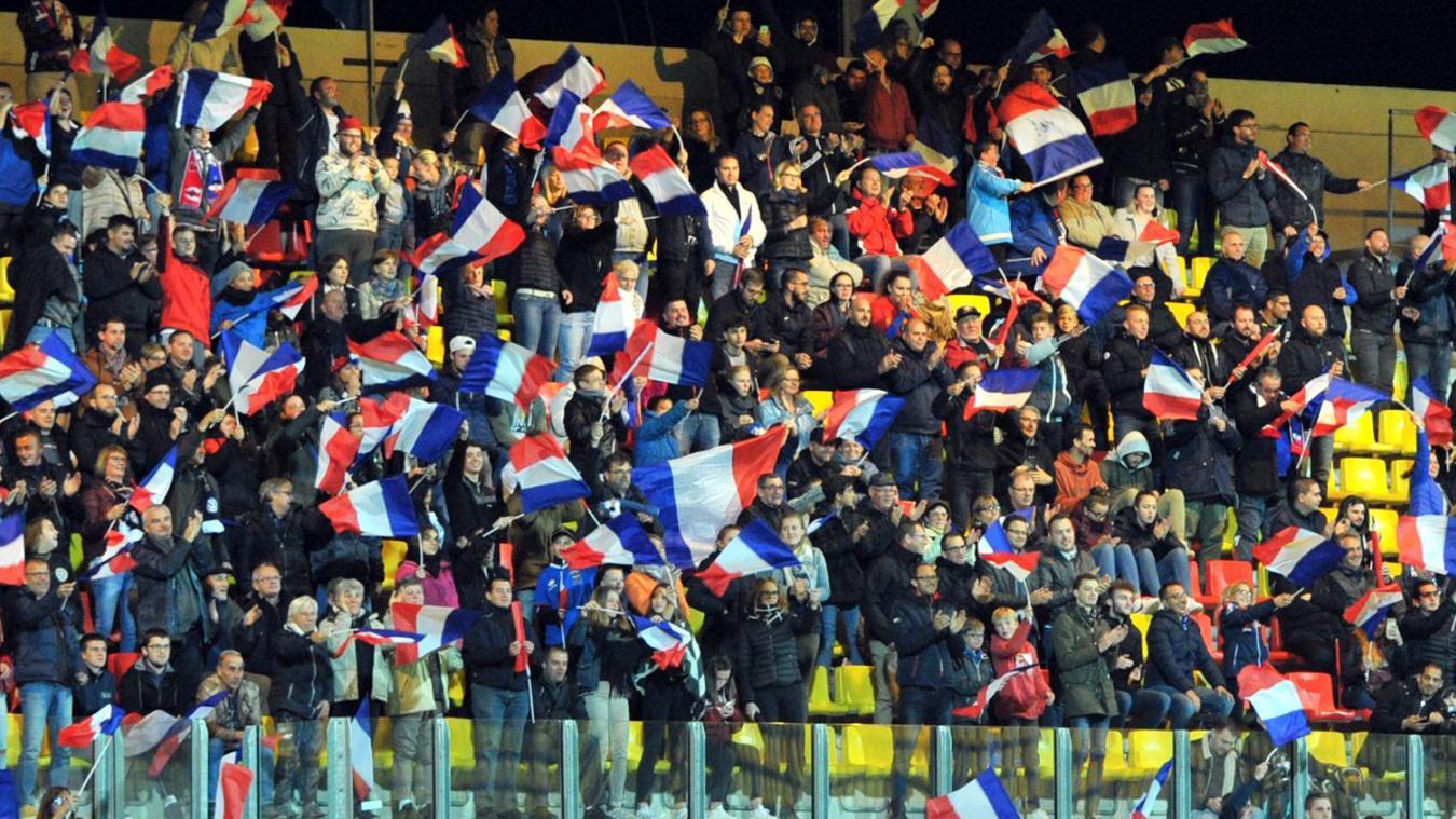 Le Stade de l'Epopée avait fait le plein en septembre 2017 à l'occasion de la venue des Bleues pour affronter l'Espagne.