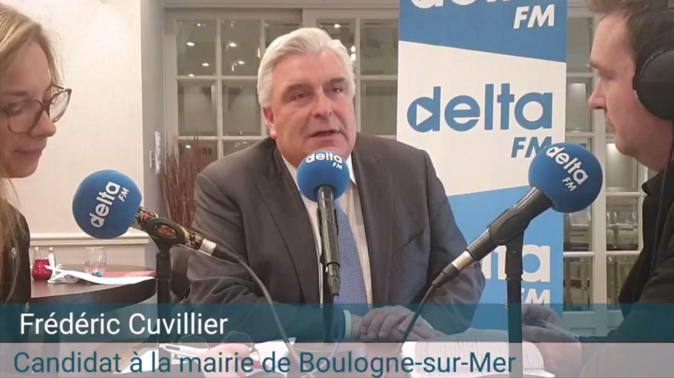 Frédéric Cuvillier est maire de Boulogne-sur-Mer depuis 2002.