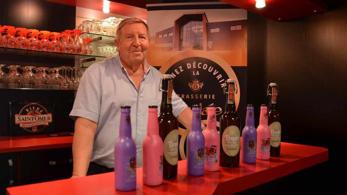 André Pecqueur, patron de la Brasserie Goudale.
