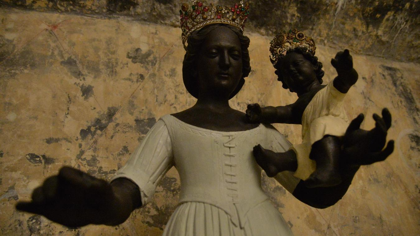 La Vierge de Notre-Dame de Boulogne part au Louvre-Lens