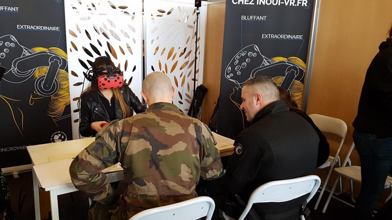 Cette année, la réalité virtuelle sera à la disposition des recruteurs pour mieux connaître les candidats.