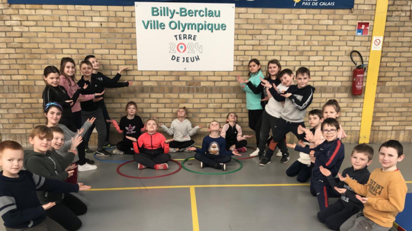 Les enfants ont découvert les disciplines olympiques début février.