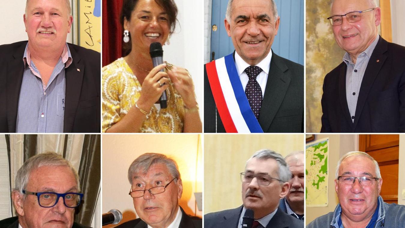 A Camiers, Merlimont, Campagne-lès-Hesdin, Groffliers, Rang-du-Fliers, Marconne, Saint-Josse et Fort-Mahon, les maires sont assurés sortants de retrouver le fauteuil majoral.