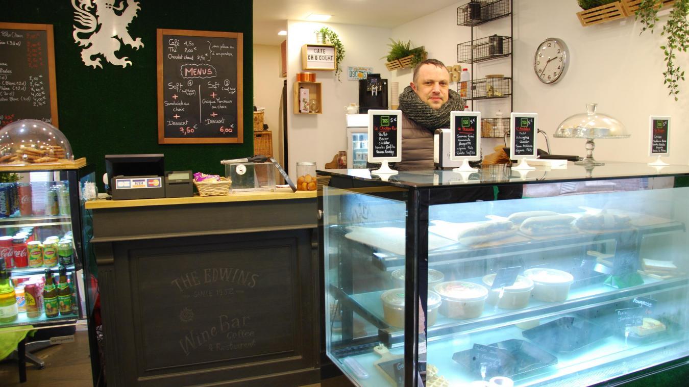 Julien Veryepe a ouvert The good sandwich au mois d'octobre.