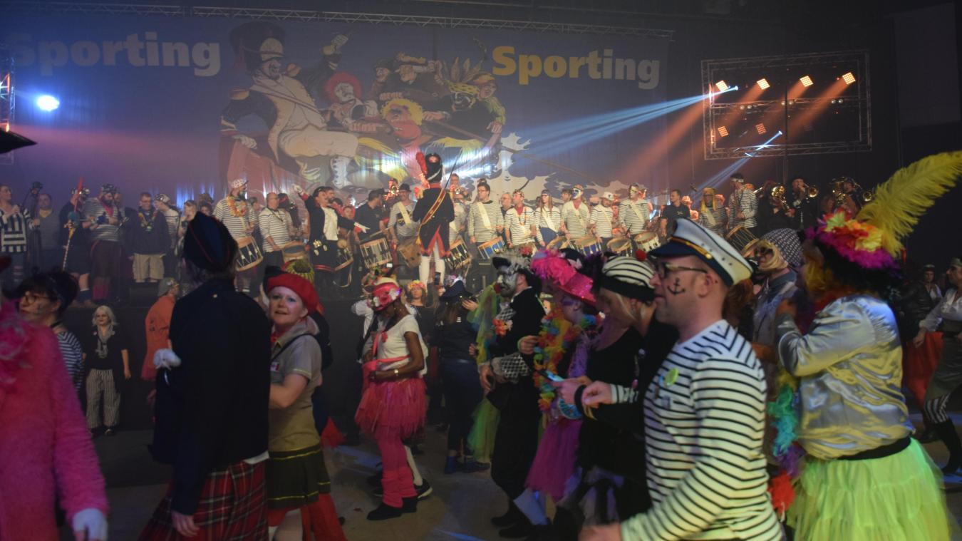 Cette année, le bal du Sporting, initialement prévu le samedi 7 mars, n'aura pas lieu.