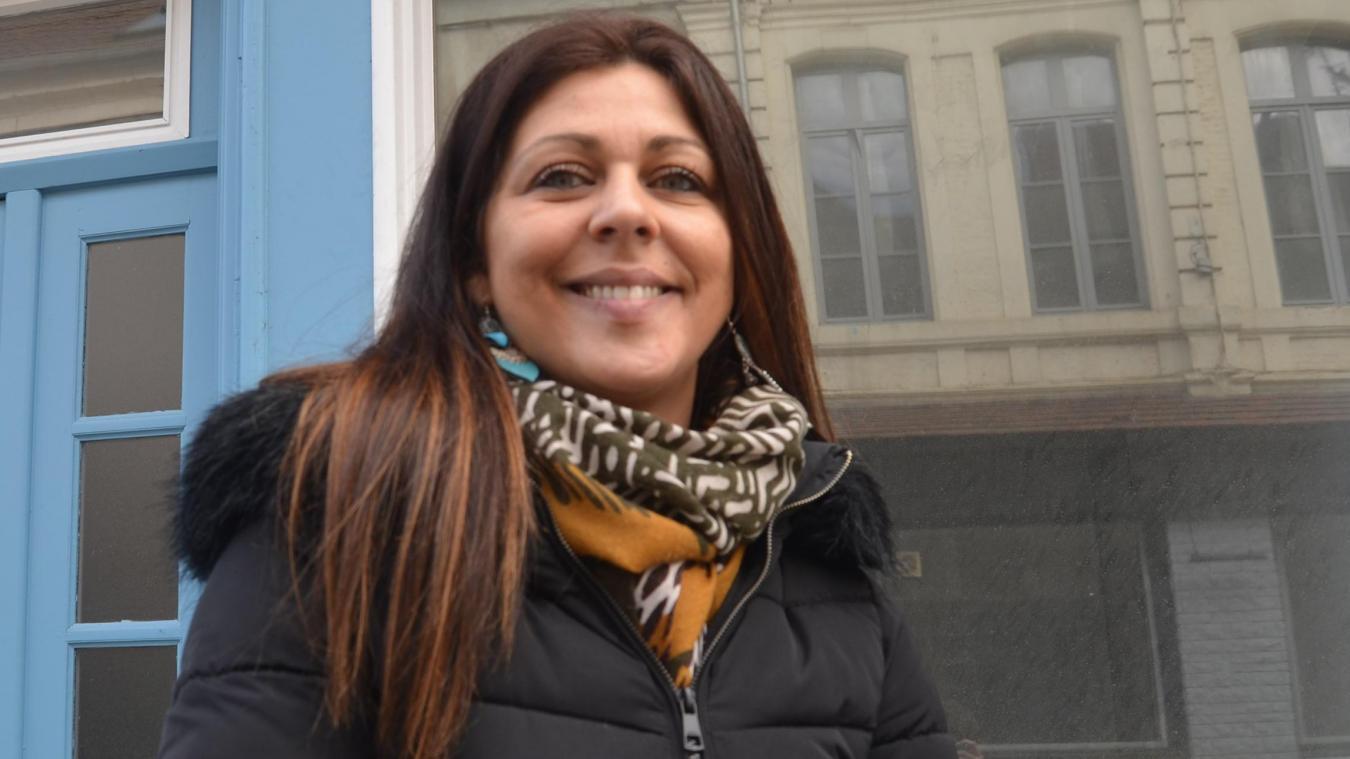 Jennifer Verwaerde, Estrée-Blanchoise, lance son activité commerciale indépendante dans le centre-ville d'Aire-sur-la-Lys.