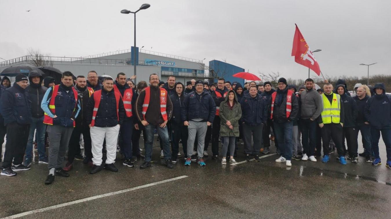 Massif mouvement de grève chez Capitaine Houat ce jeudi 5 mars.