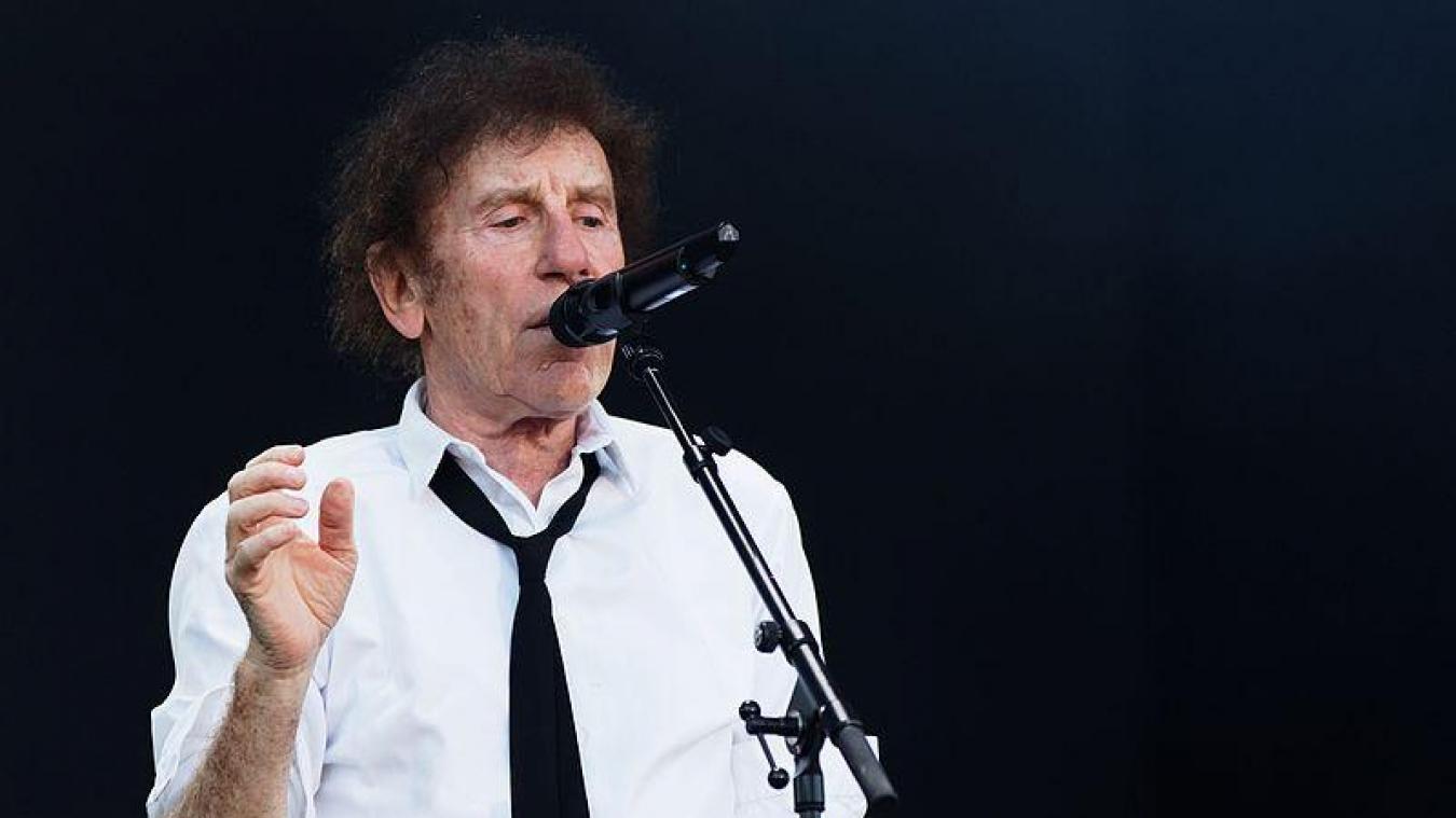 Alain Souchon, chanteur à 9 millions d'albums vendus, sera sur la scène du festival dunkerquois.