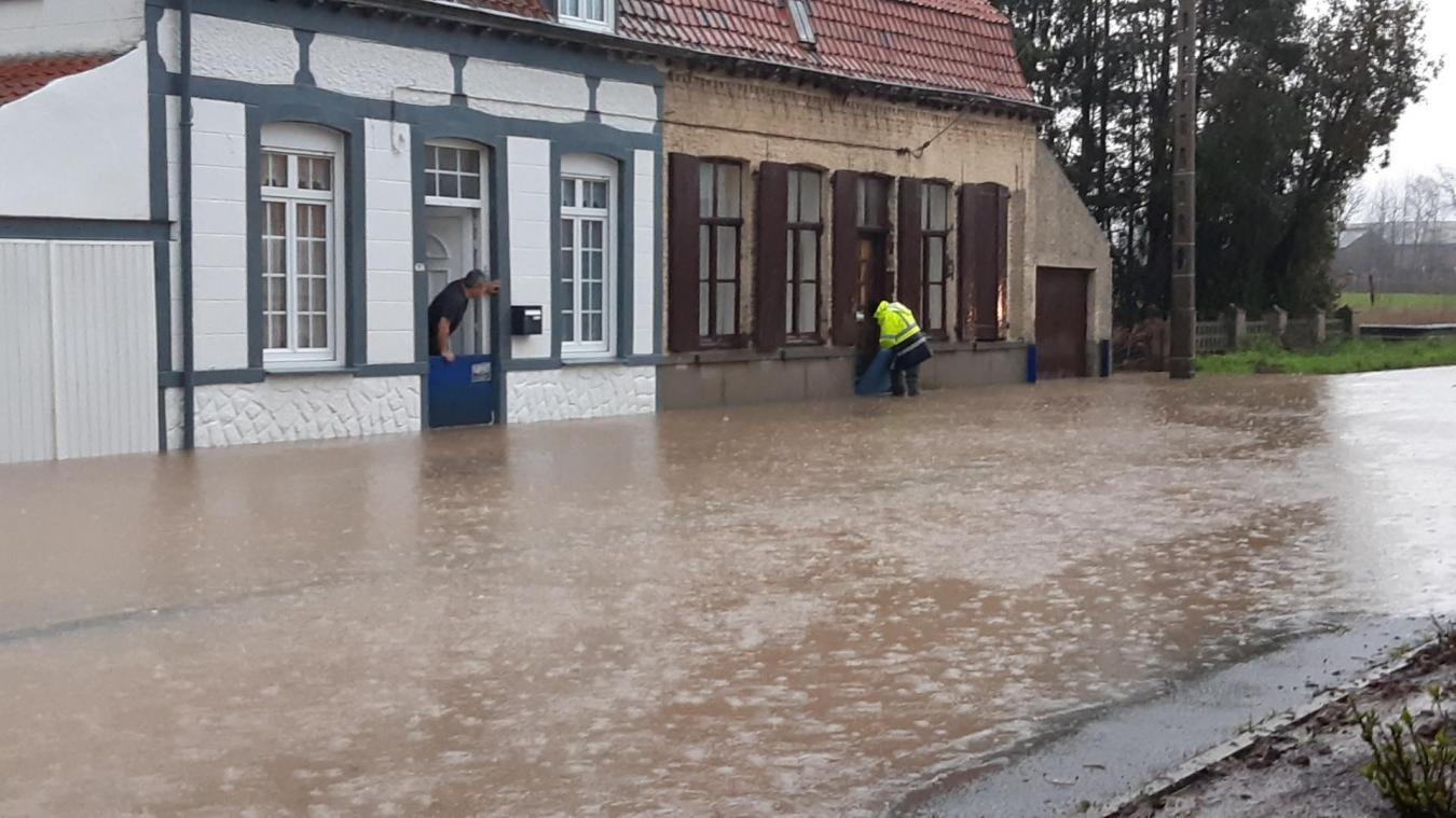 Saint-Jans-Cappel en alerte rouge inondation