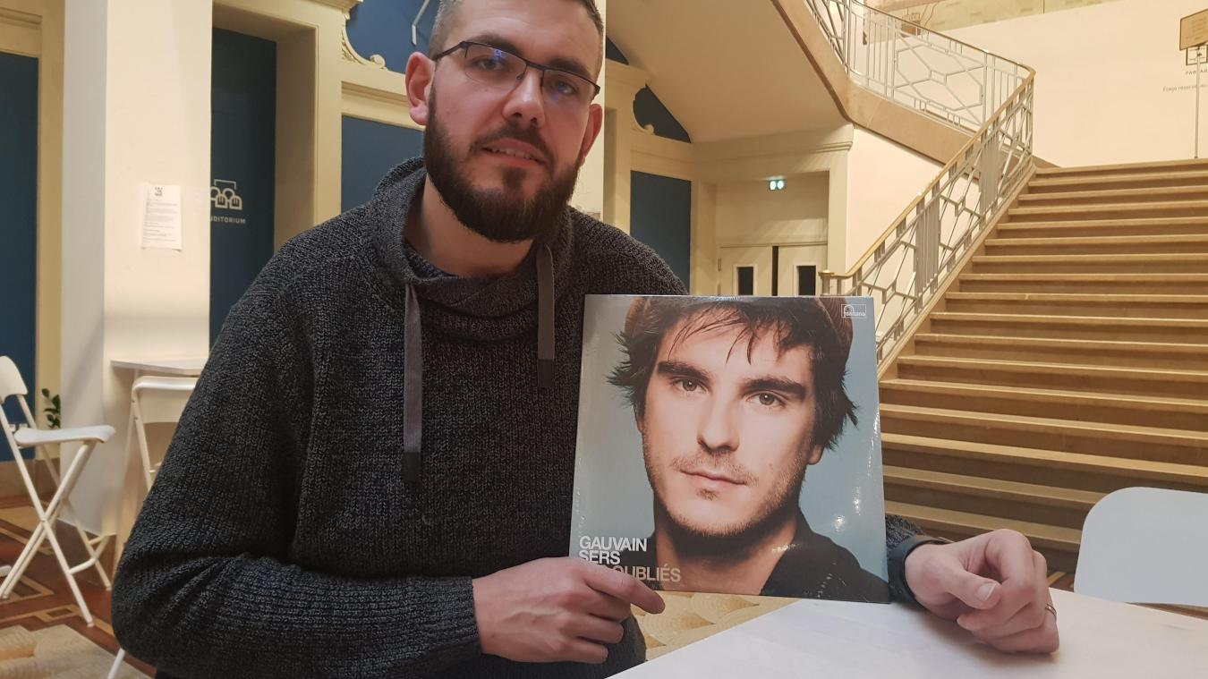 Benjamin Berdeaux a gagné l'organisation du concert privé de son idole.