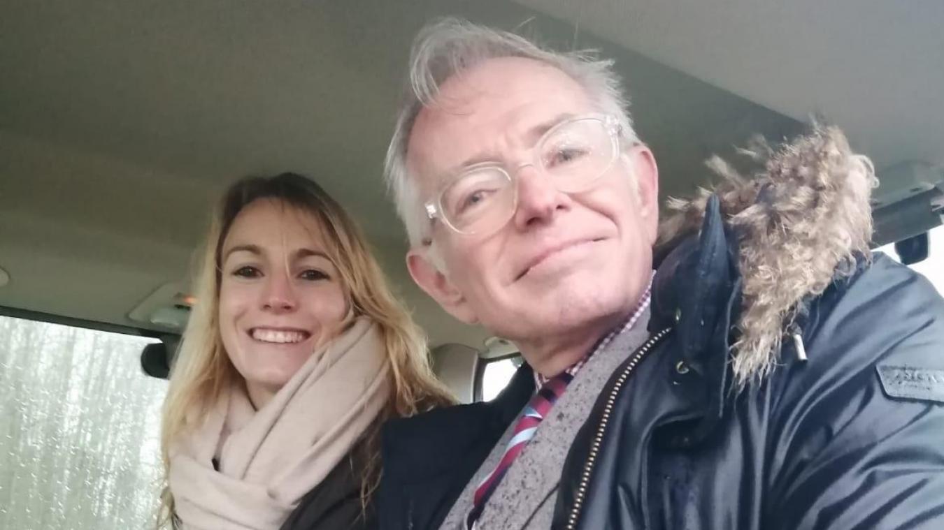 Mac Lesggy a passé la journée de vendredi à Beaumerie-Saint-Martin.