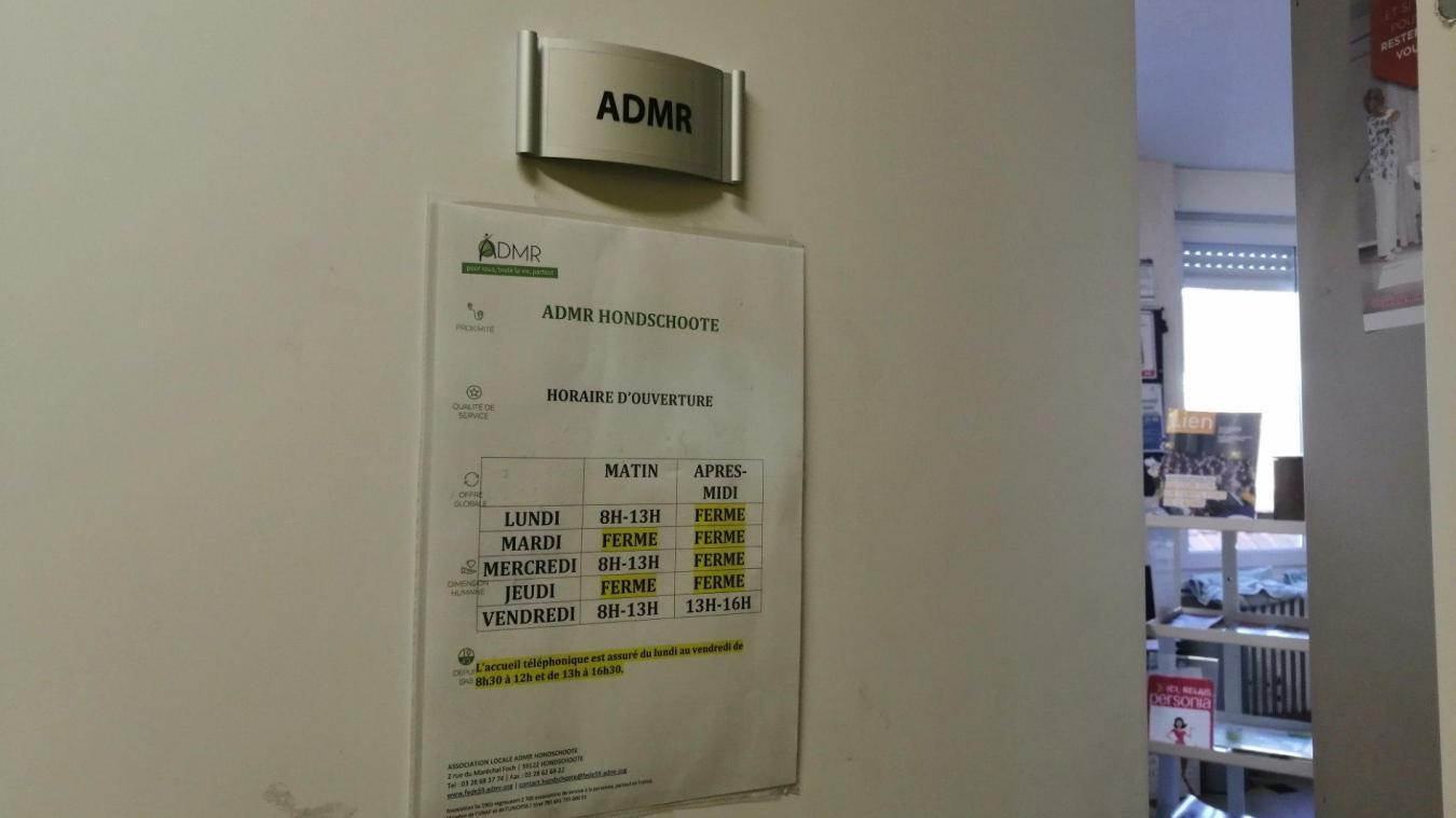 L'ADMR emploie environ 60 personnes et répond aux attentes de près de 370 clients.