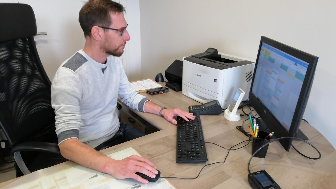 Cuinchy: le médecin assure des consultations médicales par vidéo