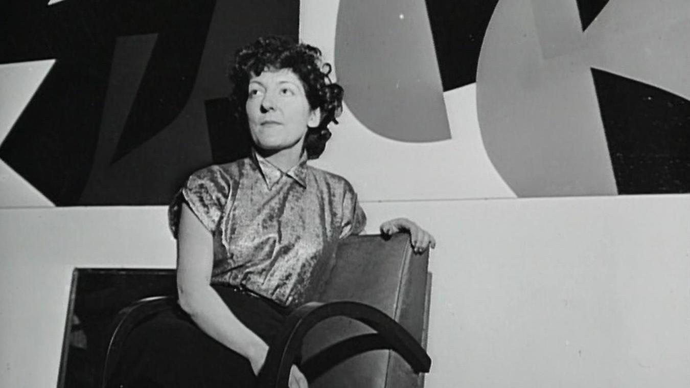 Denise René est mise à l'honneur au musée