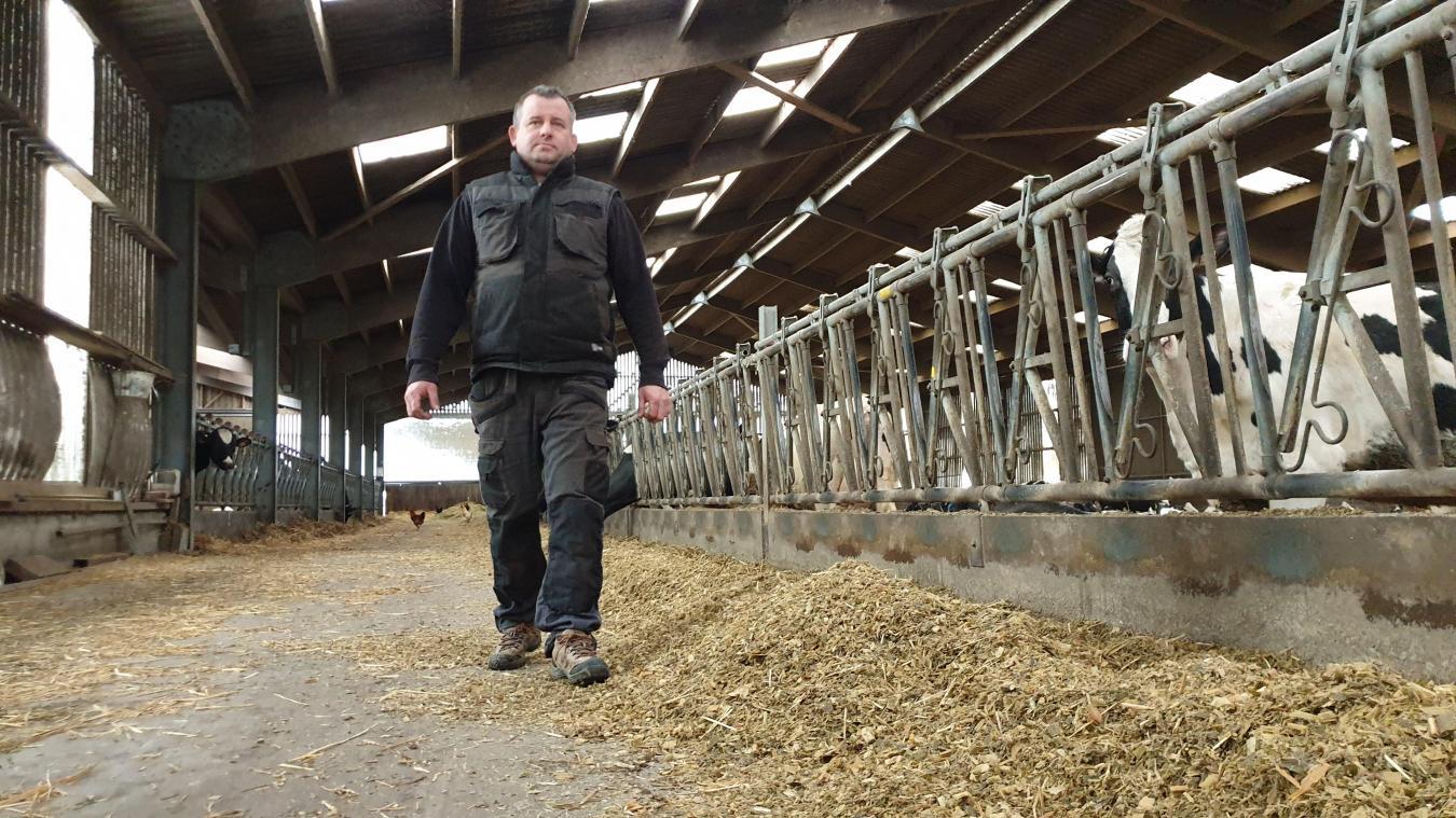 Maxime Verloin a l'impression que les pouvoirs publics veulent délocaliser les agriculteurs en dehors de la petite ceinture arrageoise.