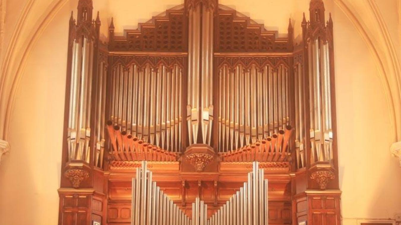 Calais: Concert d'orgue dimanche 22 mars à Saint-Pierre